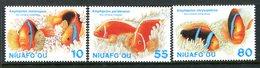 Niuafo'Ou - Tonga 1998 International Year Of The Ocean Set MNH (SG 278-280) - Tonga (1970-...)