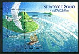 Niuafo'Ou - Tonga 2000 New Millennium MS MNH (SG MS293) - Tonga (1970-...)