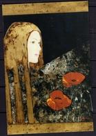 ITALIA REPUBBLICA ITALY REPUBLIC 2000 FIORELLA NOCI SANTA VERDIANA 2001 CASTELFIORENTINO CARTOLINA CARD NUOVA UNUSED - Malerei & Gemälde