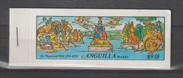 Anguilla 1979 R Hill Carnet Contenant 2 Séries 316-21 ** MNH - Anguilla (1968-...)