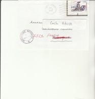 H 4 - Enveloppe  Avec Rectification Adresse Vaguemestre Gendarmerie METZ - Timbre Gendarmerie - Marcofilie (Brieven)