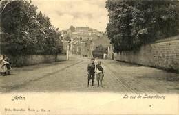 CPA - Belgique - Arlon - La Rue De Luxembourg - Arlon