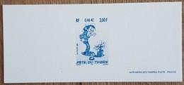 GRAVURE - YT N°3370 - FETE DU TIMBRE / GASTON LAGAFFE - 2001 - Documenten Van De Post