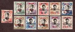 Mong Tzeu N°51 à 59,61,62 N* TB  Cote 46 Euros !!!RARE - Unused Stamps