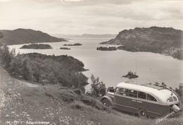 Adlandsfjorden , Norway , 30-50s ; Bus - Norway