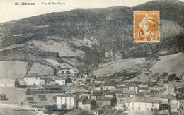 497B  ... . St CHINIAN.   Vue De Bouldoux - Francia