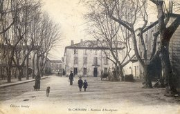 500B  ... . St CHINIAN.   Avenue D'Assignan - France