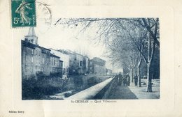 502B  ... . St CHINIAN.   Quai Villeneuve - France