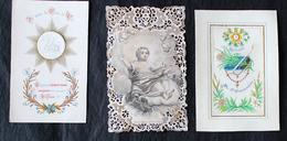 Petit Lot De 8 Canivets Images Pieuses - Images Religieuses