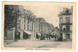 Soissons / Rue Saint-Christophe  / Ed. Nougarède Et Lestrat - Soissons