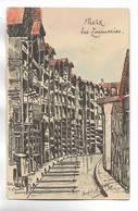 57 - METZ - Les Tanneries. Carte Précurseur, Dessinée Par André DUBOIS - Metz