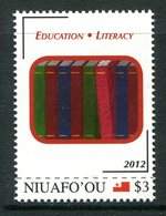 Niuafo'Ou - Tonga 2012 Education MNH (SG 367) - Tonga (1970-...)