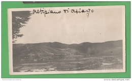 ASIAGO Panorama Altipiano Foto Anni 20 - Luoghi