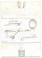 REPUBBLICA ROMANA - DA BARBARA PER CORINALDO - 25.5.1849. - ...-1850 Voorfilatelie