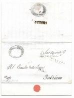 REPUBBLICA ROMANA - DA ARCEVIA A FABRIANO - 22.5.1849. - ...-1850 Voorfilatelie