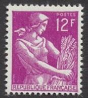 France N°1116 Neuf ** 1957 - Francia