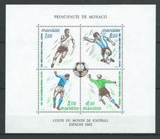 MONACO 1982 . Bloc Feuillet N° 21 . Neuf ** (MNH) - Blocs