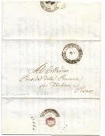 REPUBBLICA ROMANA - DA SAN LORENZO IN CAMPO A PESARO - 15.4.1849. - Italia
