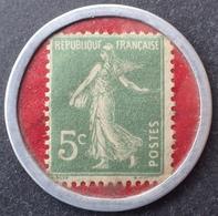 R1189/394 - 1920 - TYPE SEMEUSE CAMEE - TIMBRE-MONNAIE - EMPRUNT NATIONAL CREDIT LYONNAIS 6% - Publicités