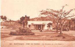 18)  MARTINIQUE - Fort De France - Bureaux De Air France - Fort De France