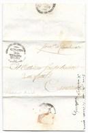 REPUBBLICA ROMANA - DA CAMERINO PER CITTA' - 8.4.1849. - ...-1850 Voorfilatelie