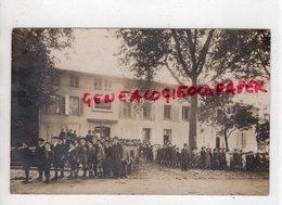 16- CONFOLENS- LE COLLEGE  RARE CARTE PHOTO BRAUN ROYAN  - CHARENTE - Confolens