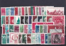 DDR, Ohne Block Und Nr, 662  Kpl. Jahrgang 1958, Gest.  Mi. 55,- Euro (K 5754) - Gebraucht