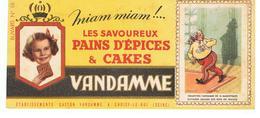 Buvard VANDAMME Images Des Rois De France N°16 - Peperkoeken