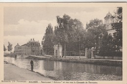 Malines (Mechelen) : Brasserie , Brouwerij , CH. Feremans , Pensionnat Coloma Et Vue Sur La Chaussée Tervueren - Mechelen
