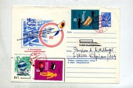 Lettre Entiere 4 Embleme + Securite Voilier  Cachet Rouge Illustré Expo - 1923-1991 UdSSR