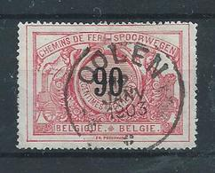 SP 25 - Afstempeling OOLEN ( Stempel Van De Privélijn GRAND CENTRAL BELGE) - Chemins De Fer