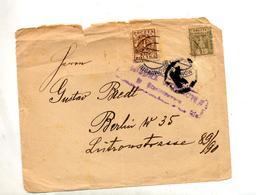 Devant Lettre Cachet ? Lettre K  + Violet Sur Aigle Timbre Oté - Poststempel - Freistempel
