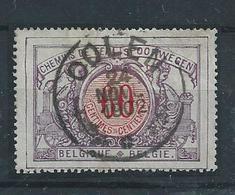 SP 37 - Afstempeling OOLEN ( Stempel Van De Privélijn GRAND CENTRAL BELGE) - 1895-1913