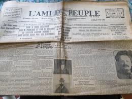 L AMI DU PEUPLE /ELECTION MANTES BERGERY /ROCHETTE /MANIFESTATION FONCTIONNAIRES/TROTSKY BARBIZON - Journaux - Quotidiens