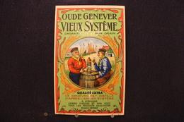 A.V.B.2/ Distillerie Stokerij -  Oude Genever Vieux Système - Qualité Extra  - 8,5 X14 Cm - Autres