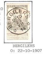 REF220/ TP 115 Pellens Coba T2 L Relais - Etoile Bergilers Aminci-dun - 1912 Pellens