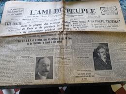 L AMI DU PEUPLE /DECRETS LOIS FONCTIONNAIRESMALLARME /TROTSKY BARBIZON - Journaux - Quotidiens
