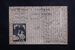 "FRANCE - Carte Postale - Nice - Carte Publicitaire - Etablissements Horticoles "" Regina "" - L 50074 - Nice"