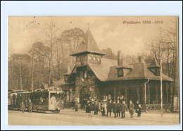 XX008443/ Frankfurt Waldbahn 1910 AK - Germany