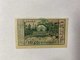 Allemagne Notgeld Liegnitz 10 Pfennig - [ 3] 1918-1933 : République De Weimar