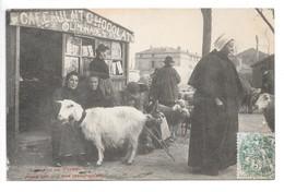 Cpa..croquis De Foire...j'crois Bien ......moutons... Chevres....animée..1905.. - Fairs