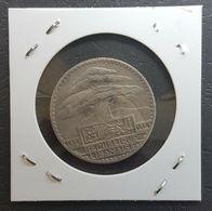 NB - Lebanon 1929 50 Piastres Silver Coin - Libanon