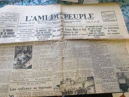L AMI DU PEUPLE /KRACK BANQUE DES COOPERATIVES/SADI LECOINTE /STAVISKY /TROTSKY BARBIZON - Journaux - Quotidiens