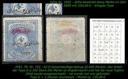 TURKEY ,EARLY OTTOMAN SPECIALIZED FOR SPECIALIST, SEE.. Mi. Nr. 723 - Mayo 43 G -R- - 1920-21 Anatolië