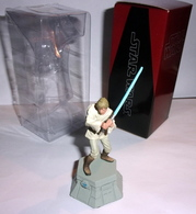 Figurine Jeu D'échec En Plomb Star Wars - Luc Skywalker - Figurines