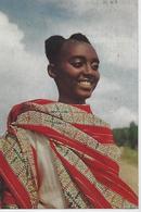 CARTE PUB AMORA  RUANDA URUNDI FILLE WATUTSI  TIMBREE DU PAYS SUJET  - 1961 - Werbepostkarten