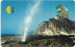 Oman - Al-mughsayle Beach - 43OMNZ - 07.1999, 10.000ex, Used - Oman