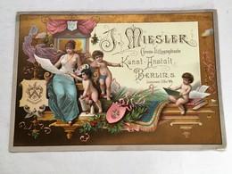 J. Miesler Berlin - Chromo Doré - Chromos