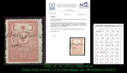 TURKEY ,EARLY OTTOMAN SPECIALIZED FOR SPECIALIST, SEE.. Mi. Nr. 727 A - Mayo 68 G - 1920-21 Anatolië