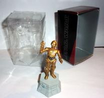 Figurine Jeu D'échec En Plomb Star Wars - C3PO - Figurines